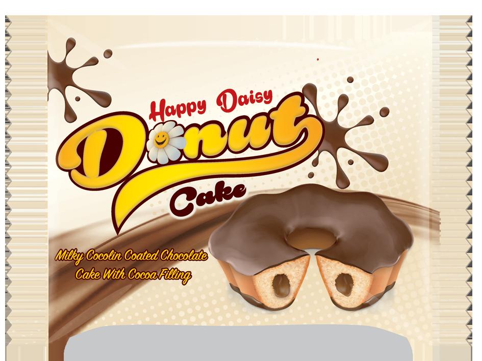 Happy Daisy Donut Cake