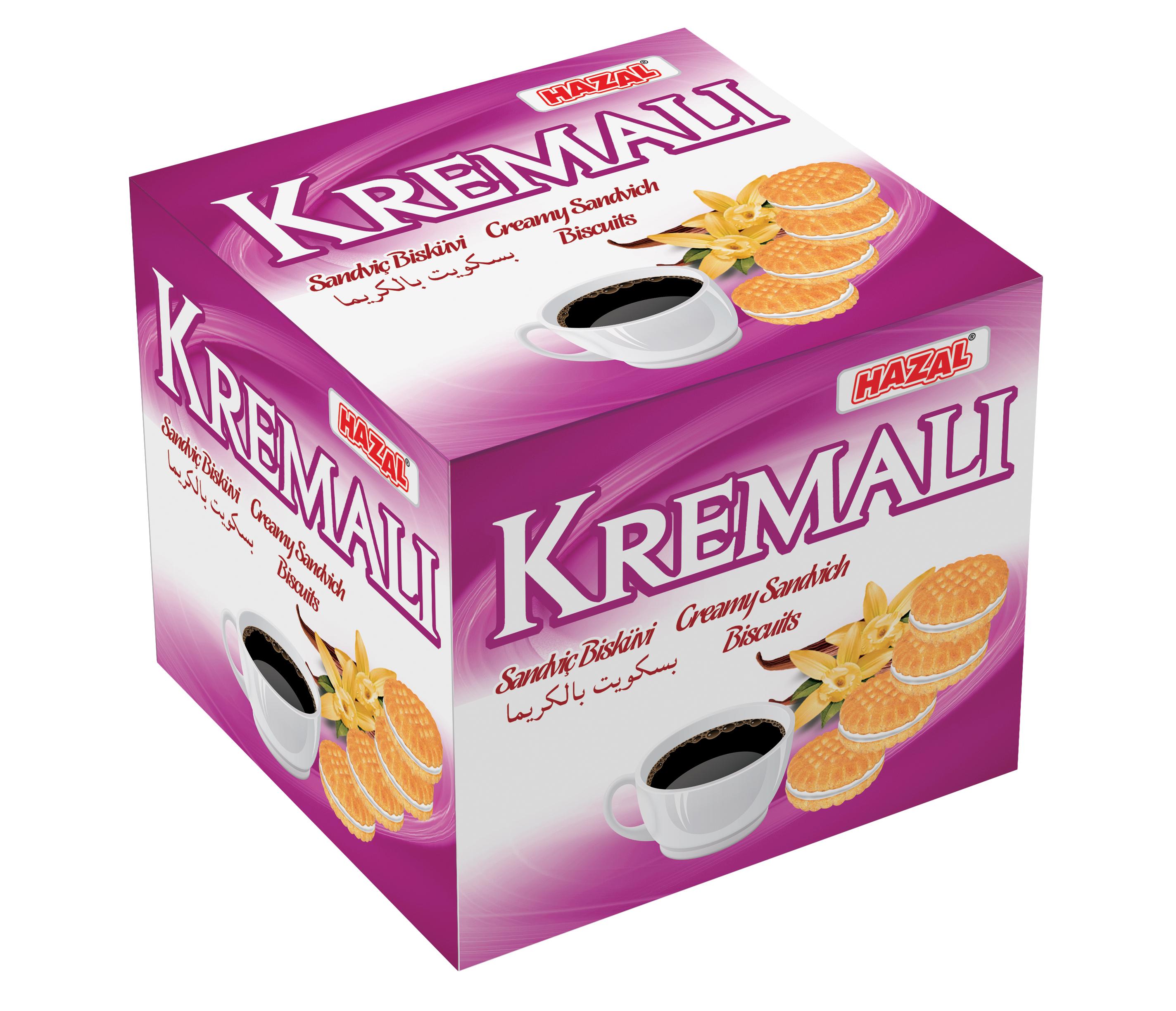 Kremalı sandviç Bisküvi